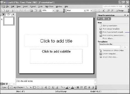 introduction: microsoft office powerpoint, Presentation templates