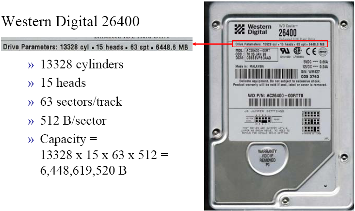 Hard Drive Capacity Calculator Cylinders Best Electronic