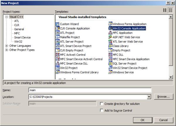 Intro to Microsoft VC++