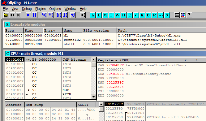Microsoft Visual C++ Development Environment