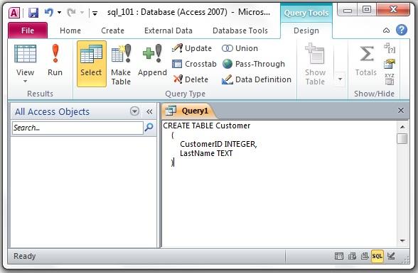 Assignment a2: SQL 101