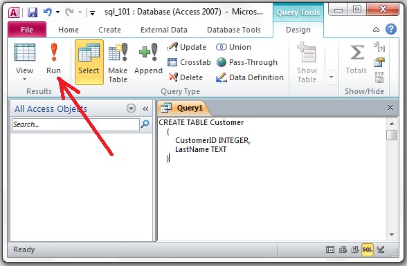 Access SQL: WHERE clause
