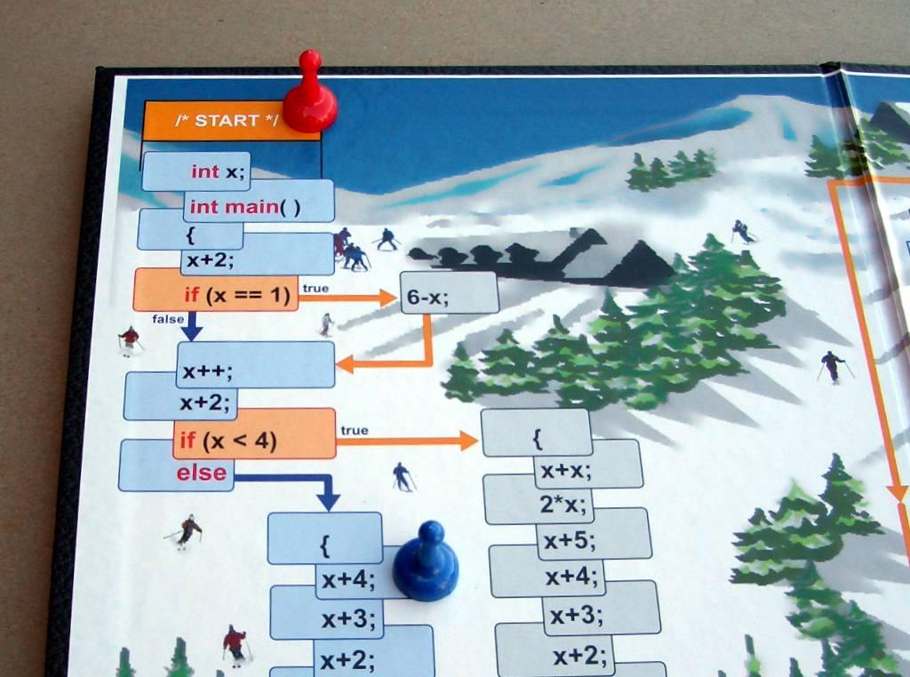 c-jump: computer programming board game